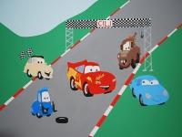 Junaki iz priljubljene risanke Avtomobili (Cars)